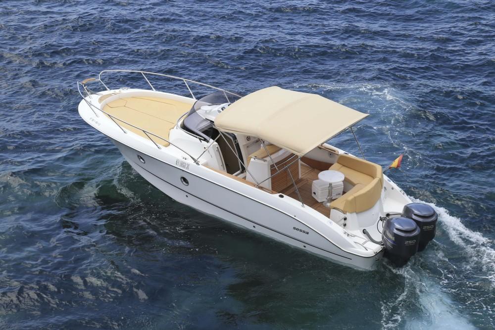 Rent a Sessa Marine Kay Large 30 Balearic Islands