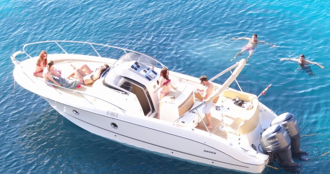 Boat rental Sessa Marine Kay Large 30 in Ibiza Town on Samboat