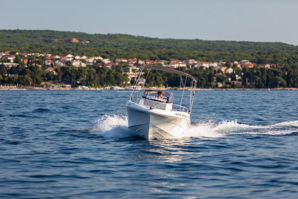 Boat rental Malinska cheap Prince 570 Open