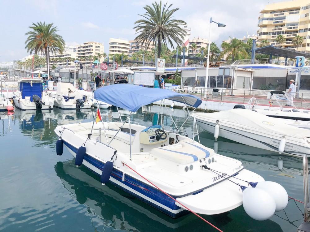 Motor boat for rent Puerto Deportivo de Marbella at the best price