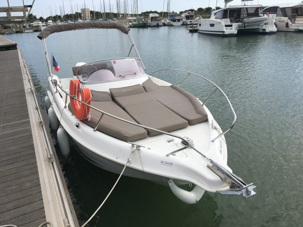 Boat rental Arcachon cheap Cap Ferret 675