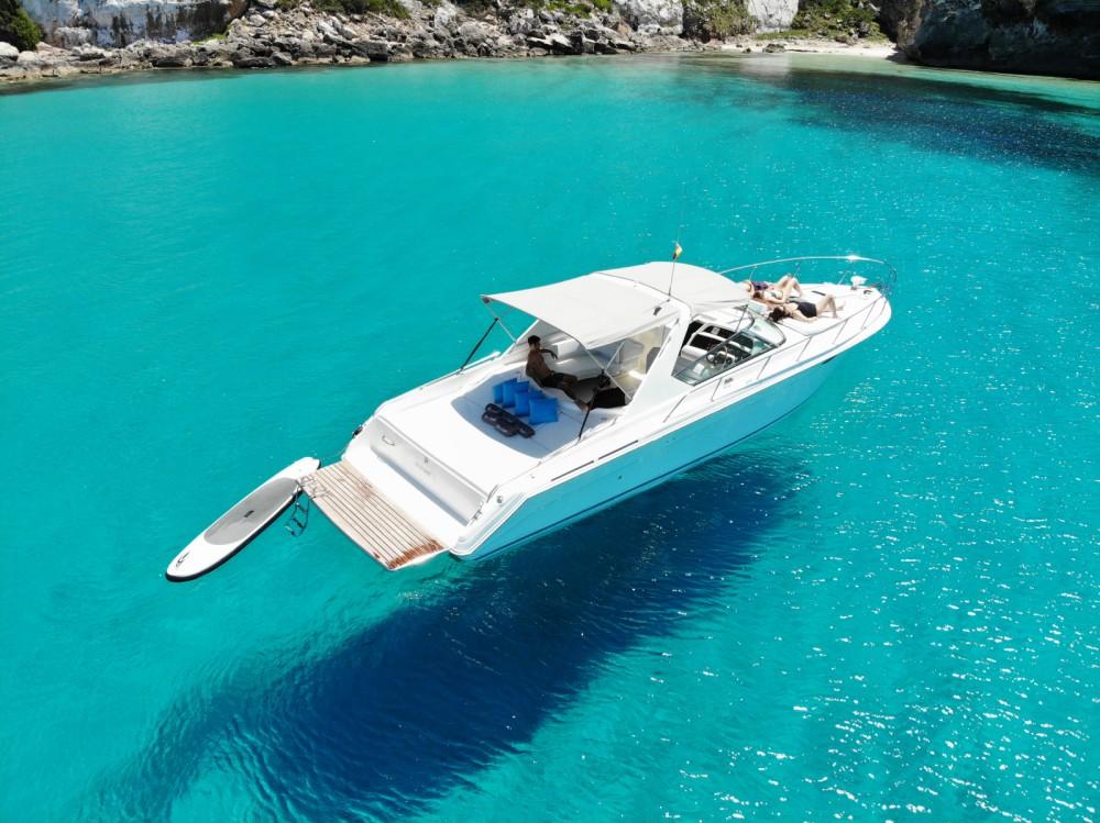 Rental Motorboat in Balearic Islands - Sea Ray 38 Sun Sport