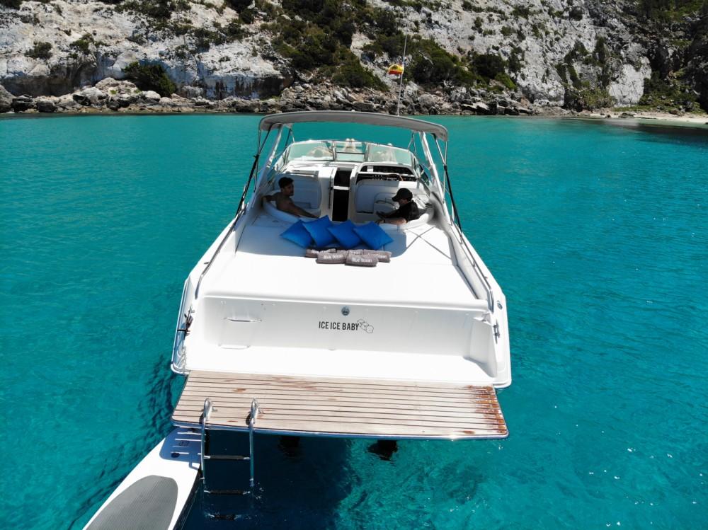 Boat rental Balearic Islands cheap 38 Sun Sport
