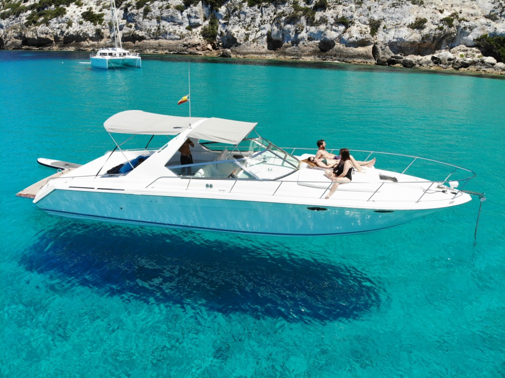 Sea Ray 38 Sun Sport between personal and professional Balearic Islands