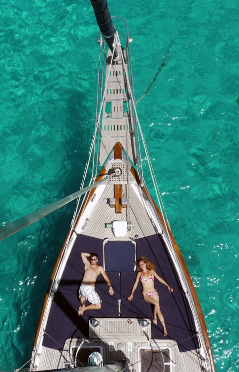 modern Sailing Ketch CT56 between personal and professional Balearic Islands