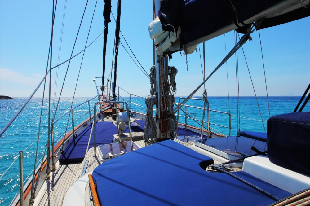 Rental Sailboat in Balearic Islands - modern Sailing Ketch CT56