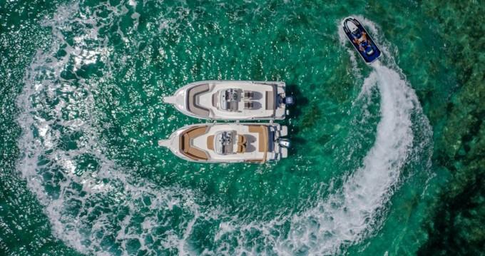 Jeanneau Cap Camarat 7.5 CC between personal and professional Trogir