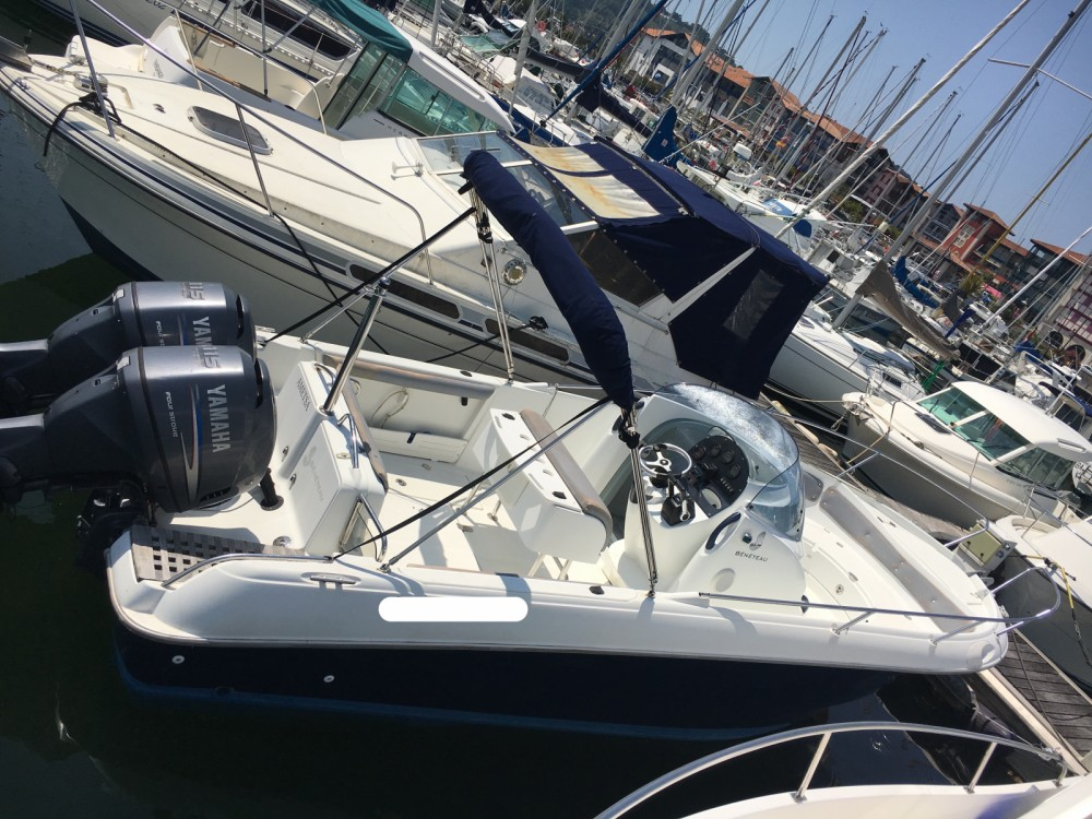 Boat rental Hendaye cheap Open