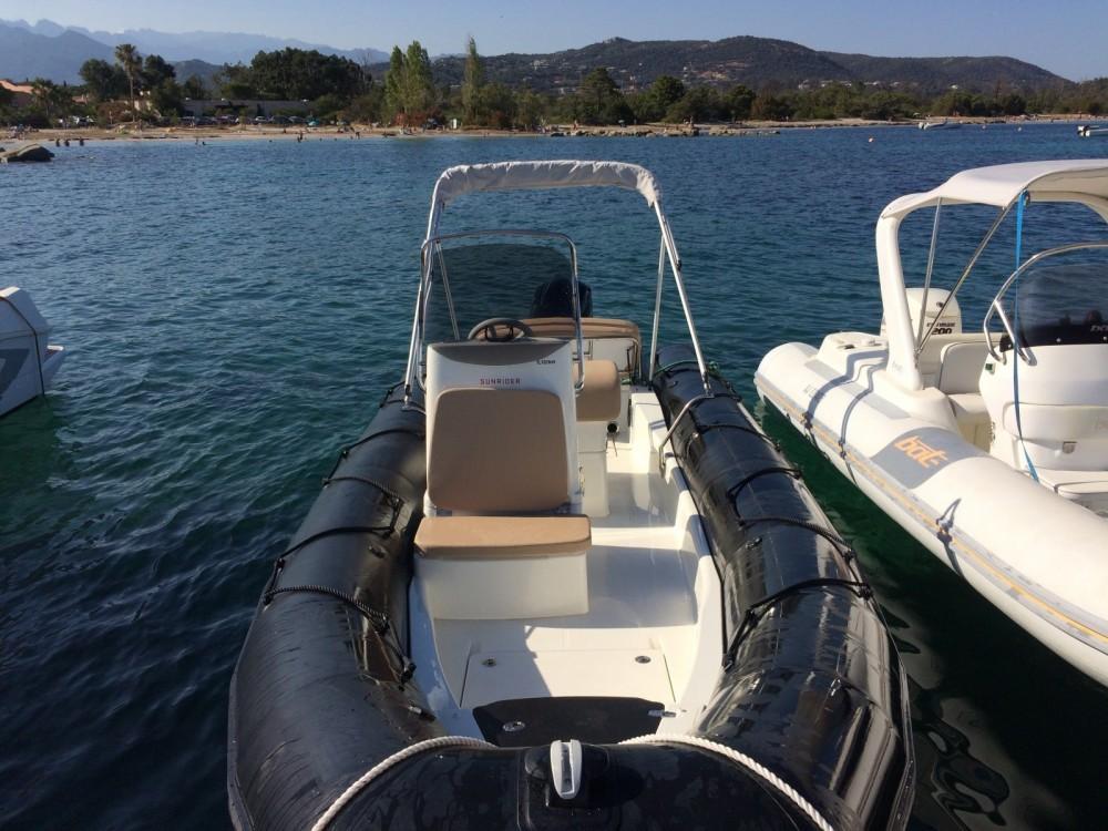 Boat rental Porto-Vecchio cheap Sunrider 700