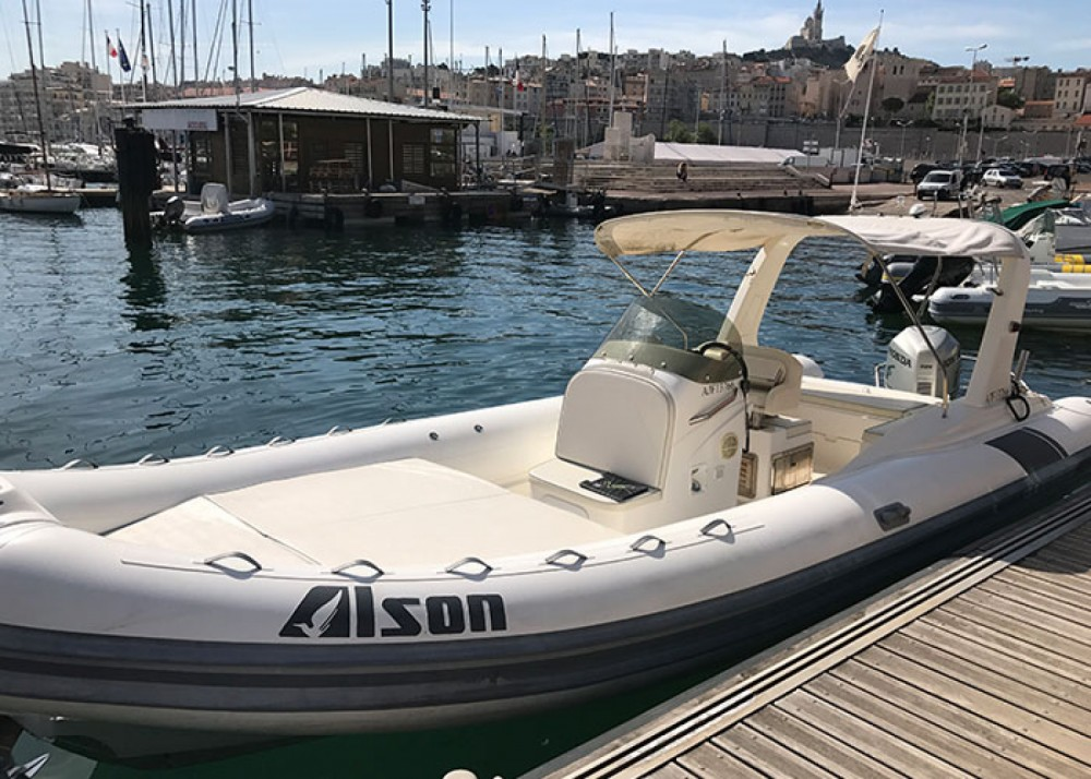 Alson Flash 750 between personal and professional Marseille