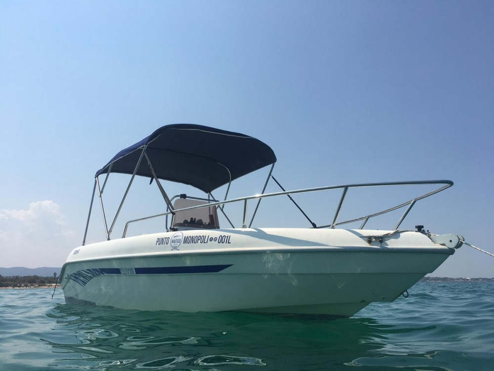 Hire Motorboat with or without skipper Aquamar Monopoli