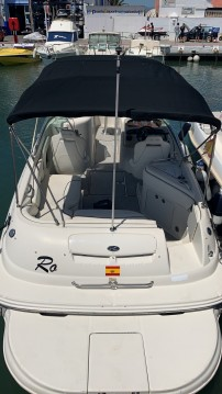 Sea Ray SUNDECK 240 between personal and professional Puerto Deportivo de Marbella