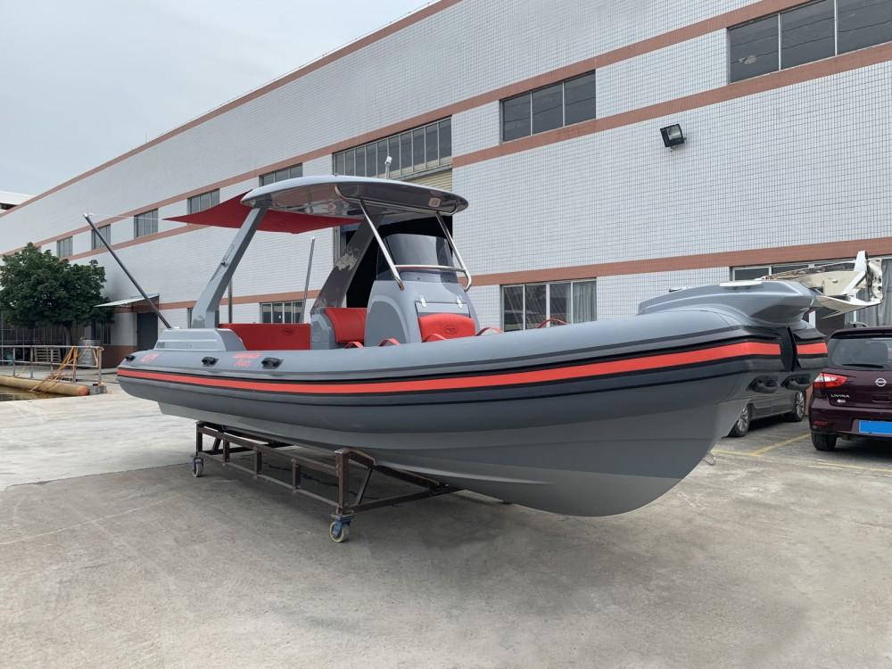 Rental RIB in Grimaud - Wimbi Boats W7
