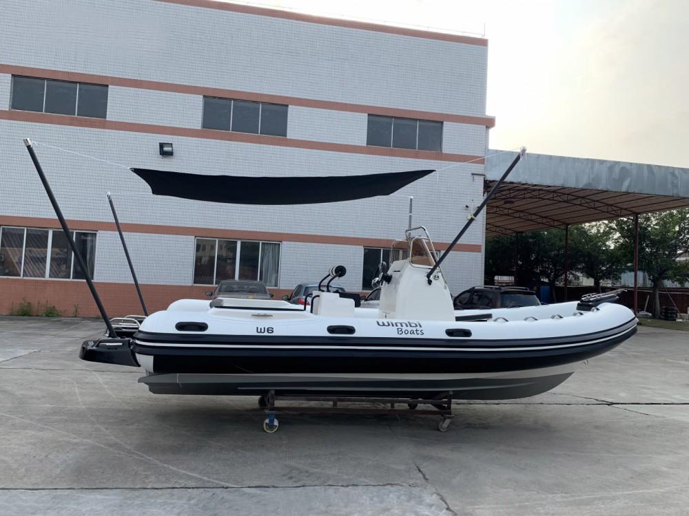 Rental RIB in Grimaud - Wimbi Boats W6