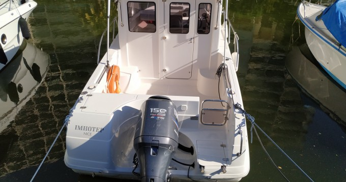 Hire Motorboat with or without skipper Pacific Craft Menton