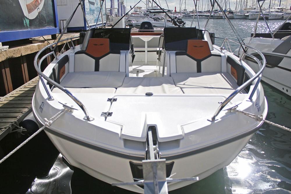 Rental Motorboat in Barcelona - Bénéteau Flyer 7 SPORTdeck