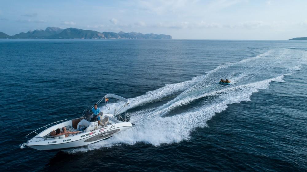 Boat rental Alcúdia cheap sport fisch 21,50
