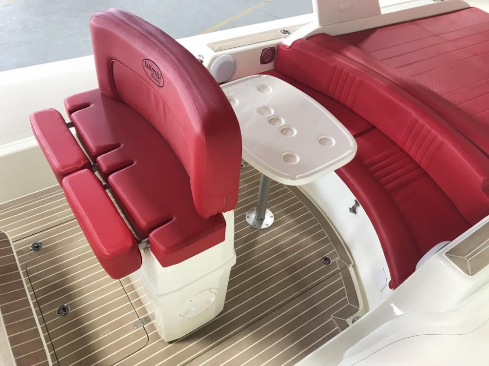 Rental RIB in Grimaud - Wimbi Boats W10