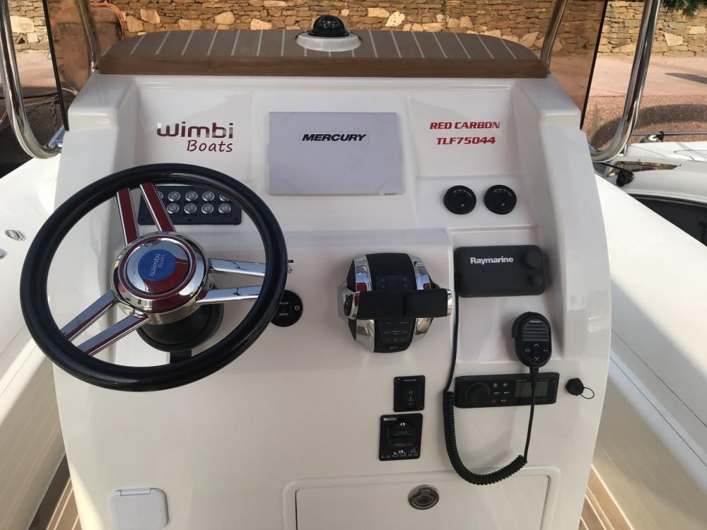 Rent a Wimbi Boats W10 Grimaud
