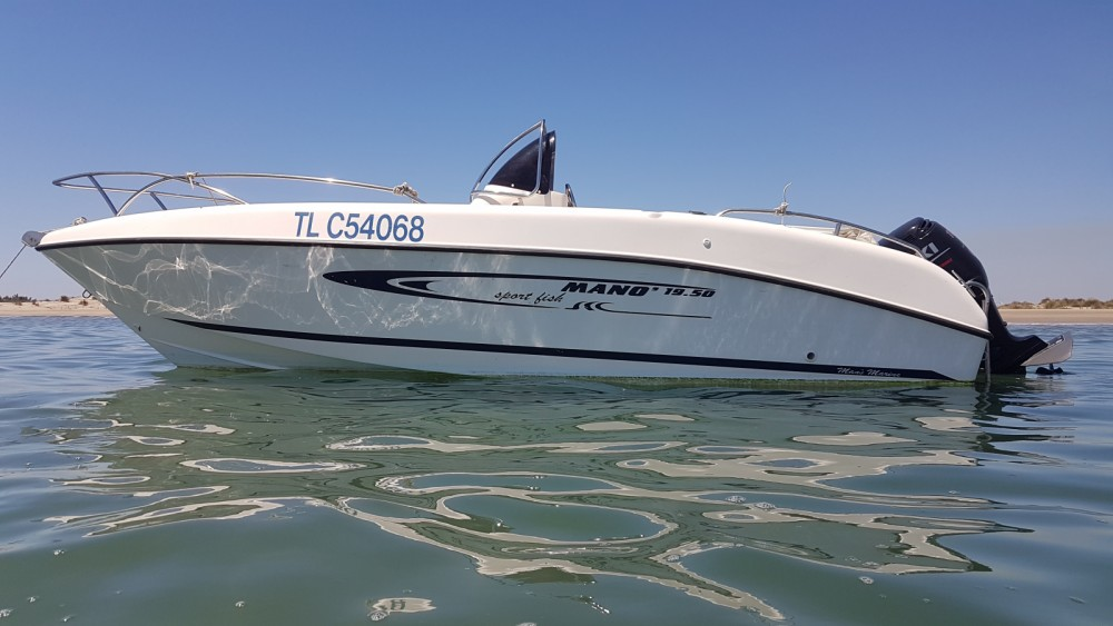 Hire Motorboat with or without skipper Mano Marine Fos-sur-Mer