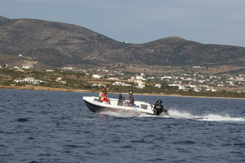 Hire Motorboat with or without skipper The Sailor's Ride Aegean
