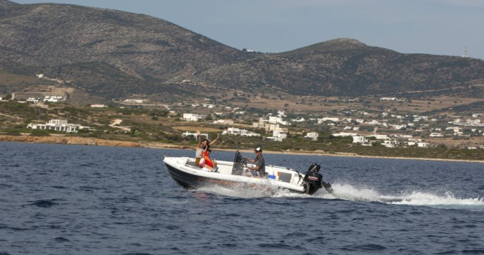 Motorboat for rent Paros Island at the best price