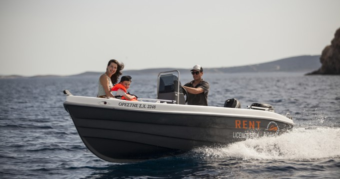 Rental Motorboat The Sailor's Ride with a permit