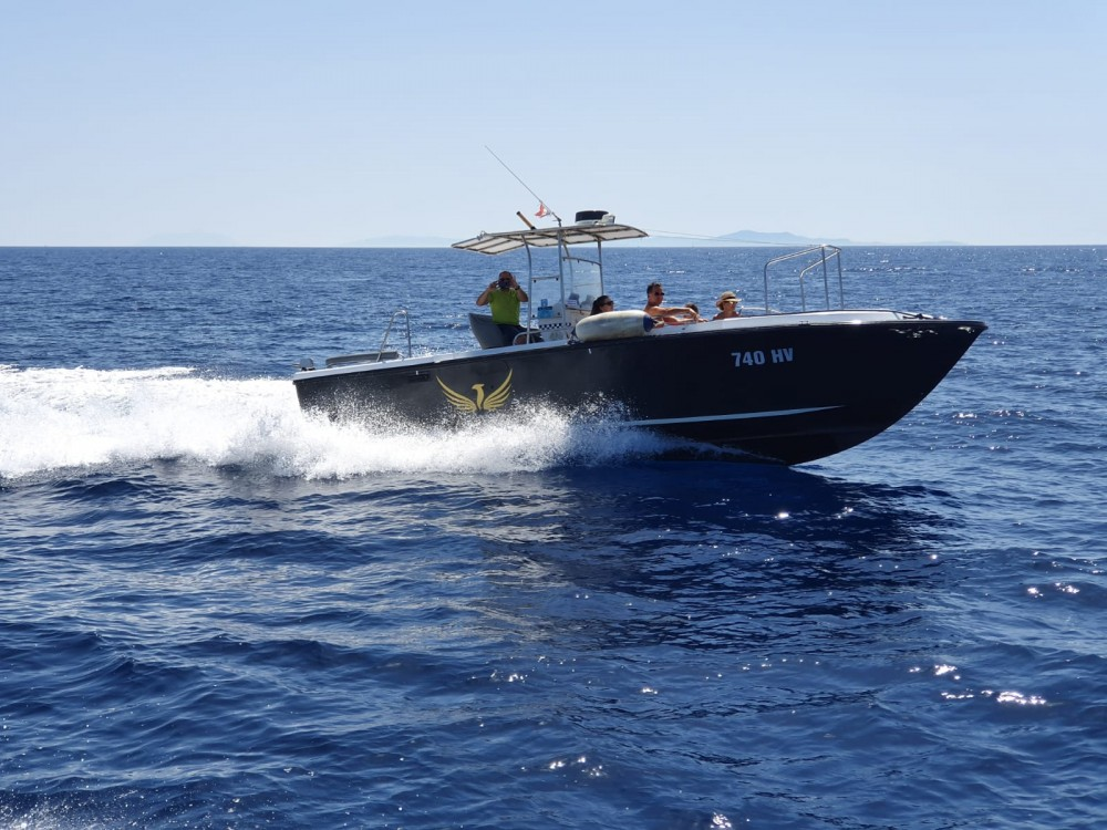 Rental Motorboat Phoenix with a permit