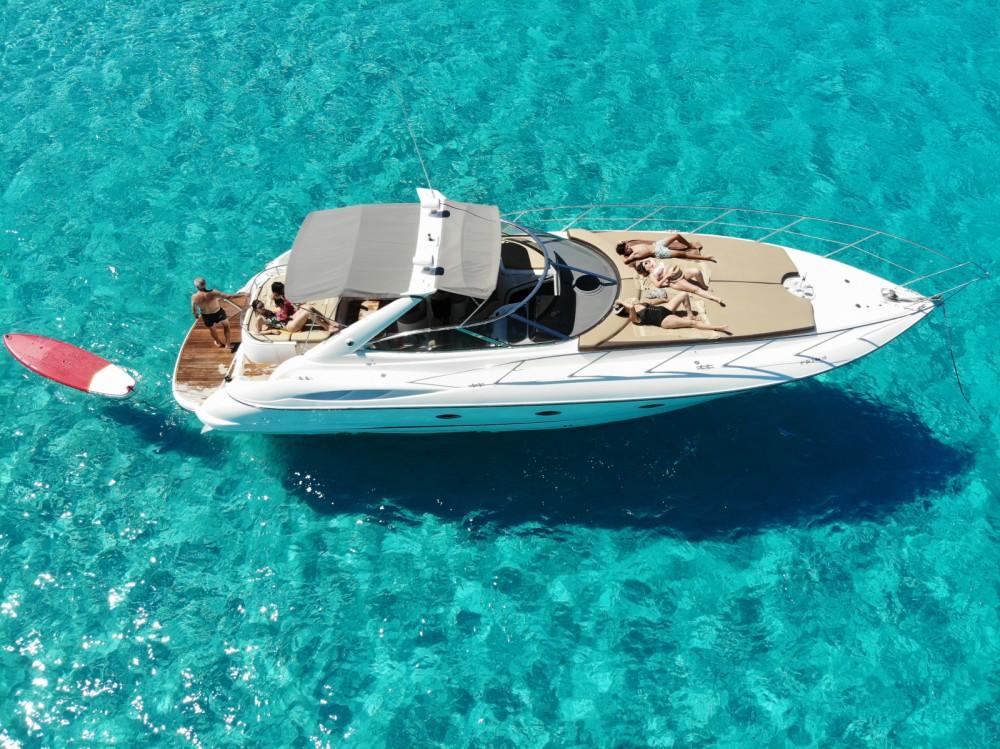 Rental Motorboat in Balearic Islands - Sunseeker Camargue 44