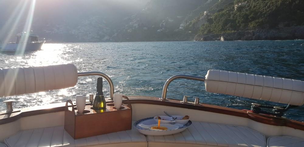 Boat rental Positano cheap Aprea mare 10 mt
