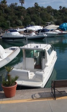 Boat rental Siracusa cheap Saver 290