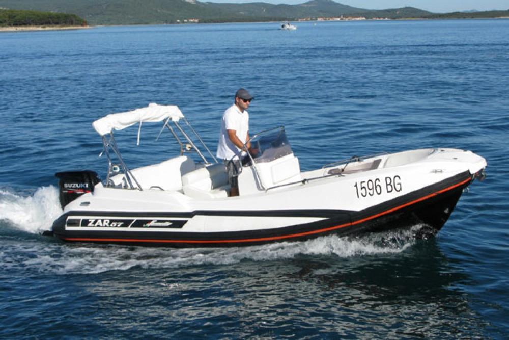 Hire RIB with or without skipper Zar Formenti Grad Biograd na Moru