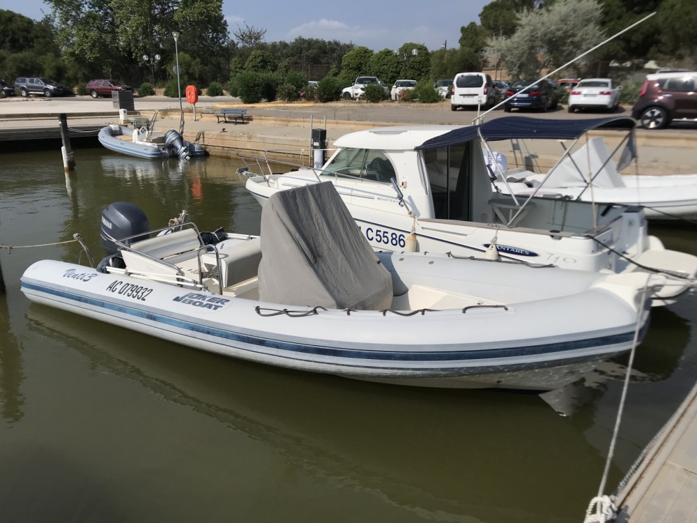Joker Boat Clubman 23 between personal and professional Hyères