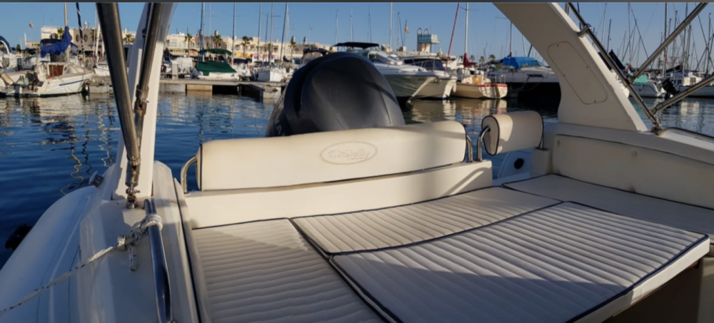 Boat rental Alicante cheap King 720 Extreme
