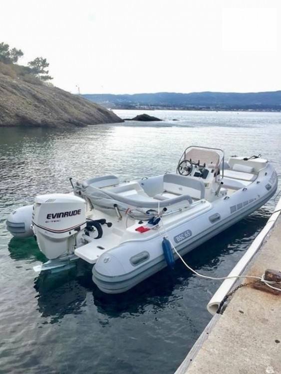 Hire RIB with or without skipper Bsc Saint-Cyr-sur-Mer