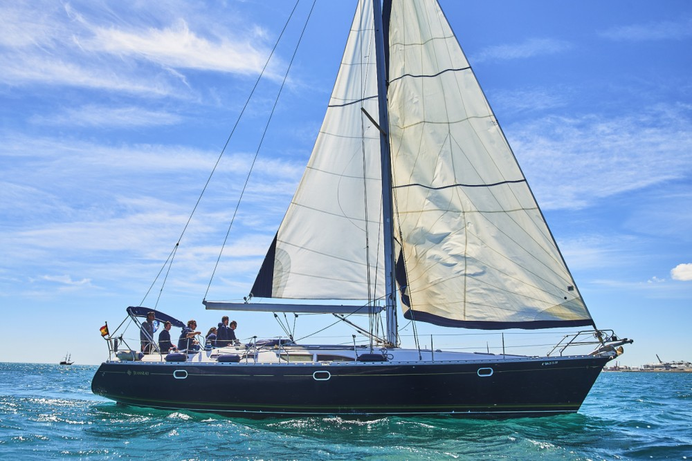 Jeanneau Sun Odyssey 45 DS between personal and professional Barcelona