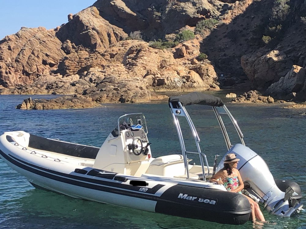 Boat rental Bonifacio cheap Marsea CM 120