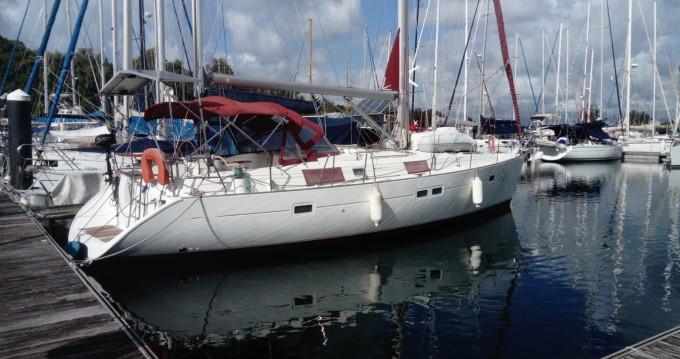 Bénéteau Oceanis 411 between personal and professional Pointe-à-Pitre