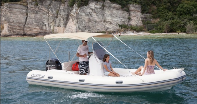 Hire RIB with or without skipper Valiant Six-Fours-les-Plages