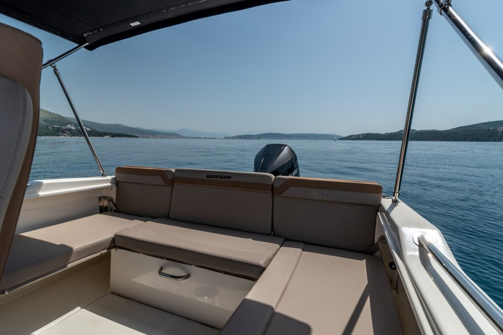 Rental Motorboat in Trogir - Quicksilver Activ 755 Open
