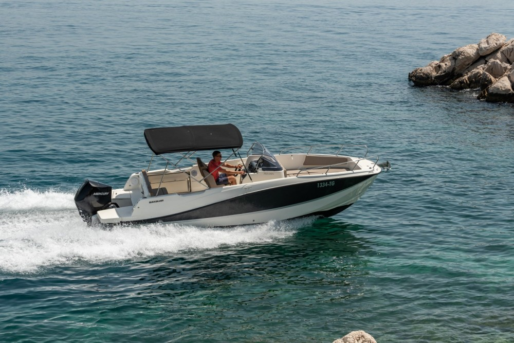 Boat rental Quicksilver Activ 755 Open in Trogir on Samboat