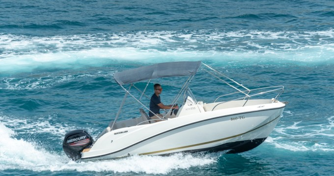 Rental yacht Split - Quicksilver Activ 555 Open on SamBoat