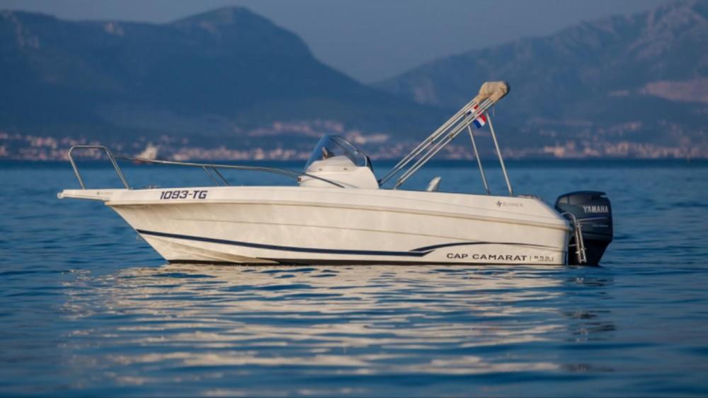 Rental Motorboat in Trogir - Jeanneau Cap Camarat 555