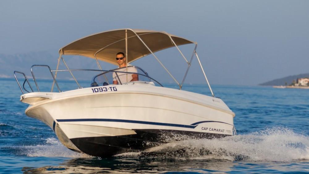 Boat rental Jeanneau Cap Camarat 555 in Trogir on Samboat