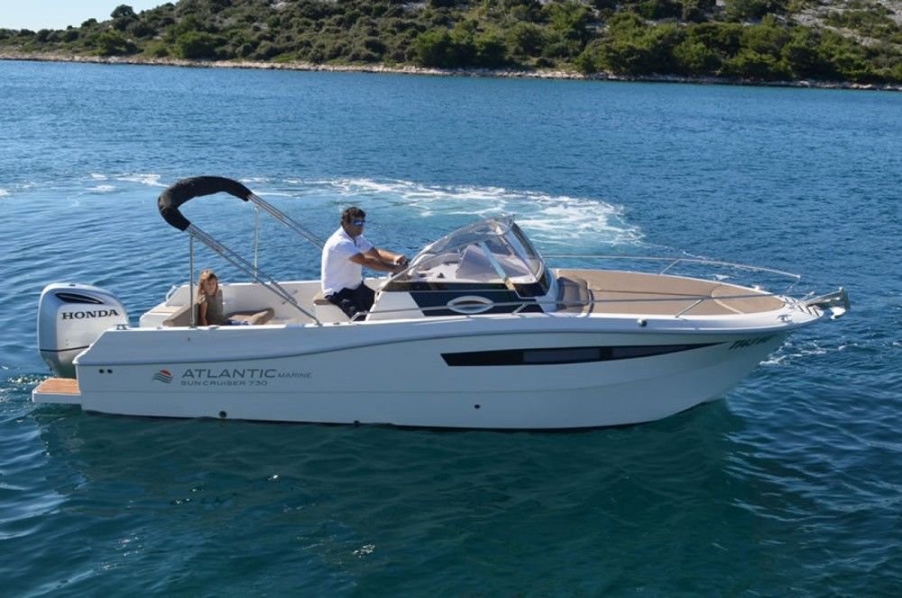 Atlantic 730 Sun Cruiser between personal and professional Tribunj