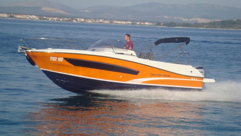 Rental yacht Tribunj - Jeanneau Cap Camarat 7.5 WA Serie 2 on SamBoat