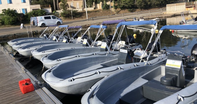 Boat rental Six-Fours-les-Plages cheap SECU 15