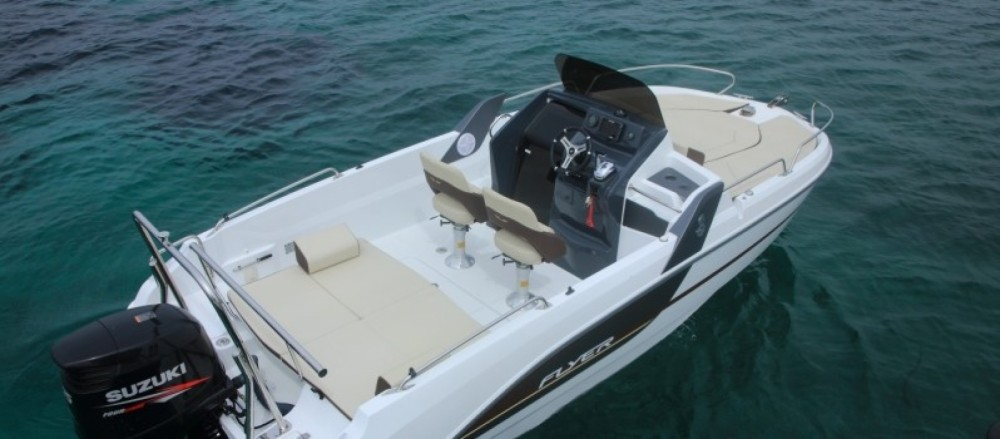 Rental Motor boat in Propriano - Bénéteau Flyer 6.6 SUNdeck