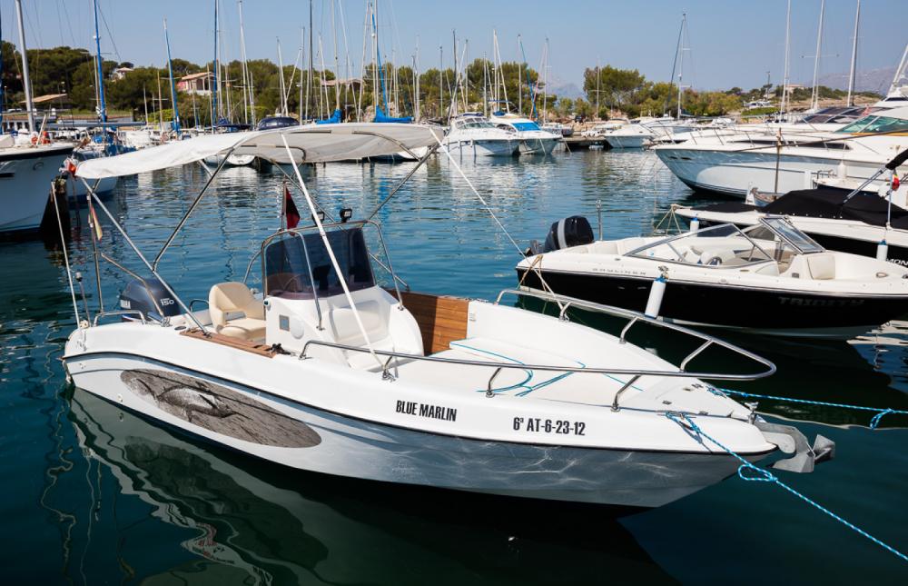 Boat rental Mano Marine sport fisch 21,50 in Alcúdia on Samboat