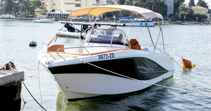Hire Motorboat with or without skipper Okiboats Zadar